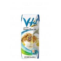 Рисовое молоко V-FIT на основе коричневого риса без сахара 250 мл