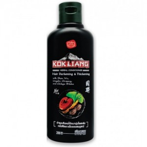 Кондиционер для темных волос Kokliang (Kokliang Conditioner Hair Darkening Thickening)
