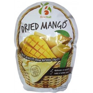 Манго сушеный Dried Mango Benefruit (Thai Tanya)