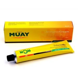 Обезболивающий разогревающий тайский крем Muay 100мл.