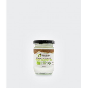 Кокосовое масло холодного отжима 200 мл.
