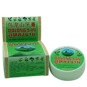 Тайская зубная паста с экстрактом Чая Улун Oolong San Thai Herbal Toothpaste With Oolong Tea